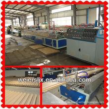 madera que compone la máquina de la fabricación del perfil del wpc
