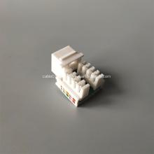UTP AMP CAT5E Keystone Jack con perforación vertical