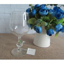 Borosilicate Glass Goblet for Holiday Decoration