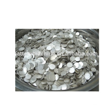 Lithium Ion Batetry Production Line Raw Material Lithium Chips,15.6Dia*0.25mm