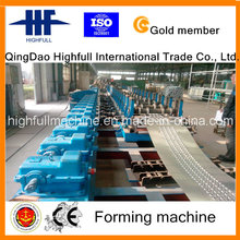 Hot DIP Galvanisiertes Gerüst Stahl Pedal Roll Forming Machine