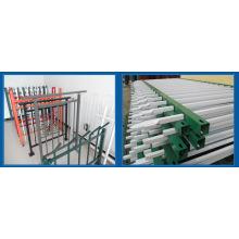 Clôture en palissade à vendre / Clôture en palissade avec revêtement en poudre / Système de clôture en palissade