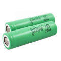High Drain Lithium Battery 2500mAh Rechargeable Battery 25A