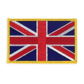 United Kingdom Embroidery Patch With Iron On