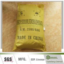 Lignosulphonate-CAS d'additif-sodium de boue d'eau de charbon: 8061-51-6