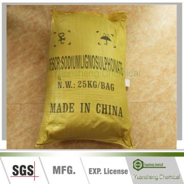 Sodio / Calicum Lignin Sulfonic Acid como Aditivos para Fertilizantes