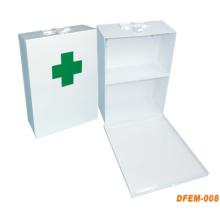Boîte de premiers soins en métal en acier