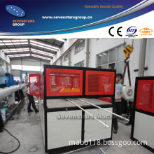 PVC Small Pipe Making Machine Wire Conduit Pipe Extruder Machine Double Pipe Production Line Extrusion Machine