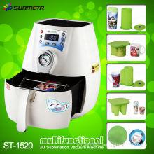 Sunmeta Hot Selling Mini Vacuum Sublimation 3D Machine ST-1520