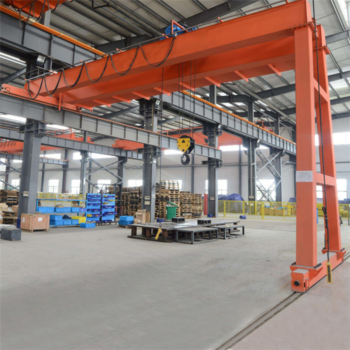 Double Girder Semi- Gantry Crane