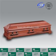 Люкс Европейского Гробы деревянные шкатулки для похорон оптом