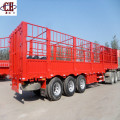 Animals Transport Grid Position Fence Stake Semi Trailer