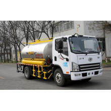 High efficiency asphalt distributor
