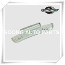 Uncoated or Coated Lead(PB) Clip on Wheel weights for American OZ Style, Universal type, Super Quality