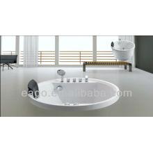 EAGO Hydromassage Small Round Bathtub massage tub AM201