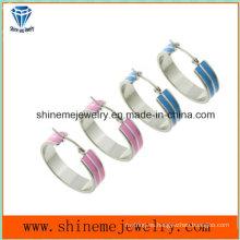 Shineme joyería de alta calidad de acero inoxidable pendiente (ERS6992)