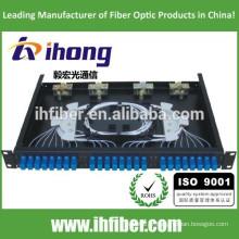 Fixed Rack-mount Fiber Optic Patch Panel / mini ODF / boîte à bornes
