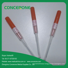 Safety Pen Like IV Catheter & IV Cannula with Injection Port