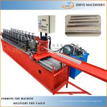 Ángulo de pared de metal de laminado en frío de formación de máquinas / perfiles de esquina de la pared de metal haciendo máquina