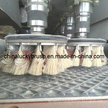 Sisal Hemp and Sandpaper Mixture Brush for Sanding Machine (YY-175)