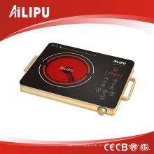 Fogão infravermelho novo do controle do toque de CB / CE / LVD / EMC