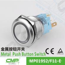 CMP waterproof common anode/cathode bi-color led push button switch