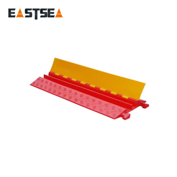 Hotsale To Global High Security 2 Channels Flexible PU Plastic Cable Tray