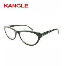 2017 acétate élégance Lady acétate lunettes optiques et lunettes lunettes