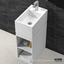 lavabo de diseño moderno, artículos sanitarios lavabo de color blanco