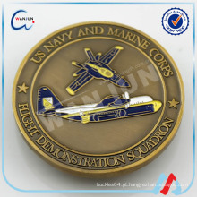 C-4 Auditoria abrangente Fabricante moeda de ouro moeda lembrança moeda velha