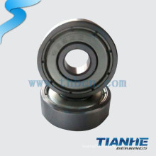 Wind power generator bearing bearing with double row ball