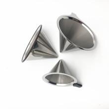 Doppelschichten Ersatz Filterpapier Edelstahl Kaffee Dripper