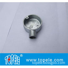 Bs4568 / Bs31 Cast Iron / Aluminum One Way Terminal Electrical Conduit Circular Junction Box