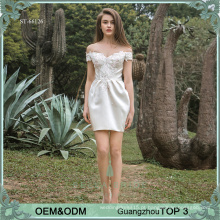 Short sexy, a mãe da noiva, vestidos elegantes vestidos de noite vestidos de convidados de casamento