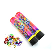 Novelty Spring Driven Party Popper as Kids' Toy for New Year Celebration