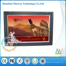 HD 10 pulgadas abrir reproductor de publicidad LCD de marco