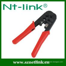 Outil de sertissage à cliquet pour bornes isolées