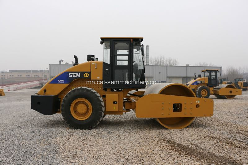 22 Tons SEM522 Hydraulic Single Drum Road Roller