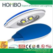 Alta qualidade à prova d'água 5 anos de garantia levou luz de rua Super brilhante Híbrido Solor levou ao ar livre CE Rohs UL LED Highway Lamp