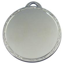 Горячее сбывание пустая оптовая медаль серебр плакировкой