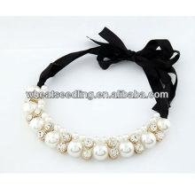 Sweety Collier en perles perlées avec fermeture à ruban 10070474