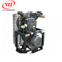 High pressure piston centrifuge compressor for food grade Booster 175CFM 508PSI 25HP