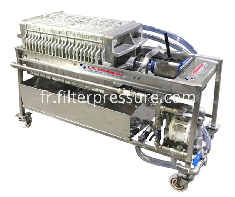 Stainless Filter Press 4