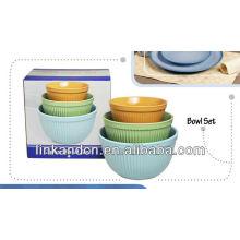 KC-00372/ceramic bowl/ bowl set
