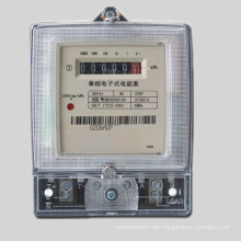 Einphasig zwei Draht Anti-Tamper Digital Electric Kwh Meter