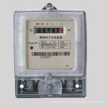 Однофазный двухпроводный анти-тампер цифровой электрический измеритель Kwh