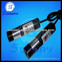 Módulo laser de linha vermelha 650mm 5mw (linha ajustável)