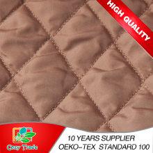 3 Layer Chiffon oder Satin Quilting Stickerei Stoff für Taschen, Matratze, Padding, Winter Tuch, Schuhe