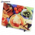 Blank Kitchen Tempered Glass Chopping Board for sublimation