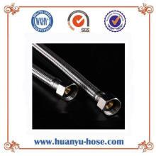 Manguera de metal trenzado flexible de acero inoxidable